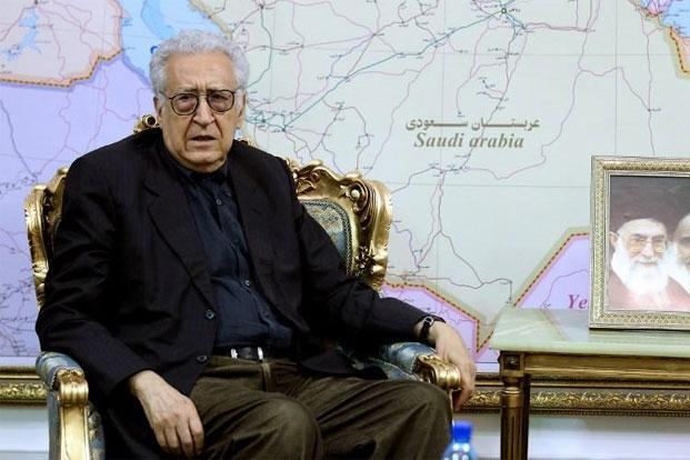 "Lakhdar Brahimi hopes the truce for the four-day Eid al-Adha holiday starting on 26 October would be a step ""towards a more global ceasefire."" Photo: Atta Kenare/AFP."