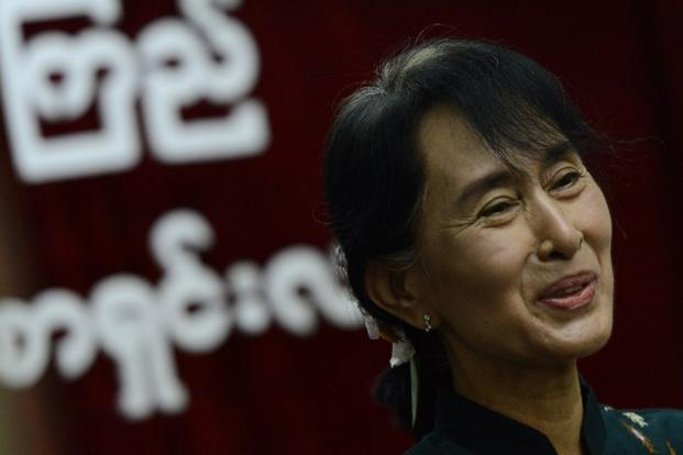 Suu Kyi has travelled to several western countries including the US and the UK since November 2010. Photo: Christophe Archambault/AFP.