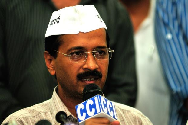 Kejriwal can be seen as India's Julian Assange; only unlike Assange's strong anti-system objectives, his own are somewhere between highlighting the gaps in people managing the current system and presenting himself as an objective. Photo: Sunil Saxena/HT  (Sunil Saxena/HT )