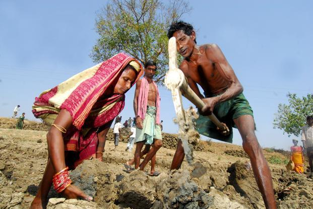 Nrega has been constantly held responsible for the downward turn in public finances, for it's the only one that has been implemented for a substantial amount of time. Photo: Indranil Bhoumik/Mint (Indranil Bhoumik/Mint)