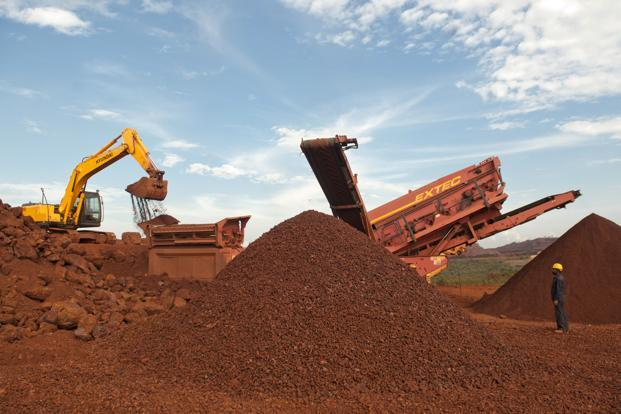 The NMDC mines in Donimalai. Photo: Aniruddha Chowdhury/Mint