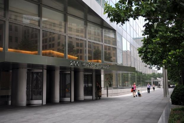 "Goldman Sachs headquarters in New York. Its Bangalore project — codenamed ""Big Bang"" inside the bank — will move workers from four offices elsewhere in Bangalore into a single campus about 15 km south-east of the city centre by 2017. Photo: AFP"