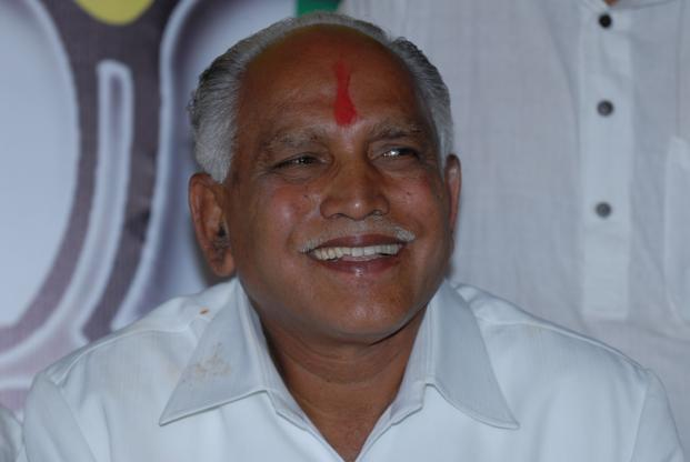 B.S. Yeddyurappa, who was forced to quit by the BJP central leadership in the wake of Lokayukta report on illegal mining indicting him, said his proposed party would fight on 'secular ideology'. Photo: Hemant Mishra/Mint