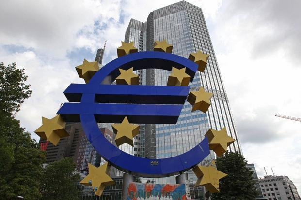 The slump that began in Greece and spread to other smaller euro zone economies is now clearly gripping the core economies of the region. Photo: AFP