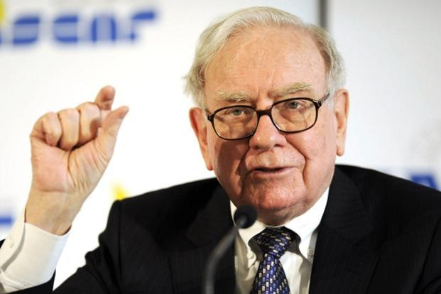 Warren Buffet chairman and CEO of US holding company Berkshire Hathaway. Photo: AFP