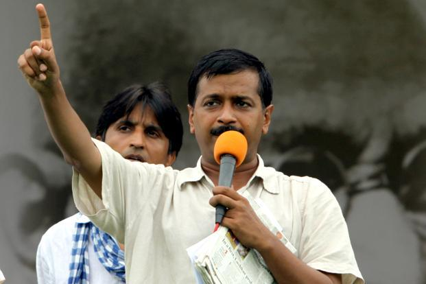 Activist-turned-politician Arvind Kejriwal. Photo: Hindustan Times