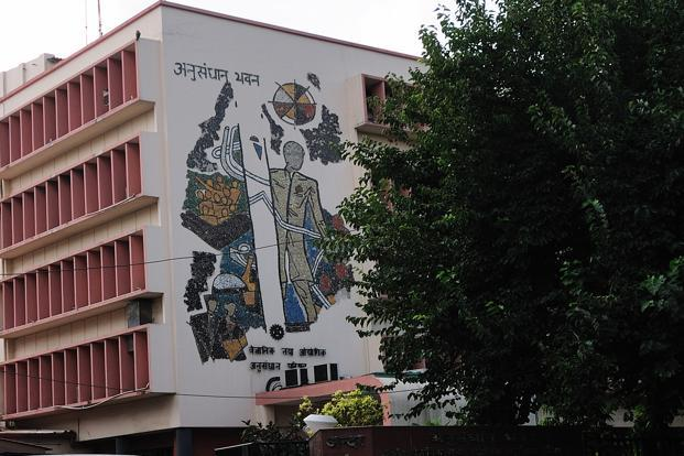 CSIR Anusandhan Bhawan, in New Delhi. CSIR, India's largest science body with 39 laboratories, subscribes to more than 8,000 academic journals.Photo: Priyanka Parashar/Mint (Priyanka Parashar/Mint)
