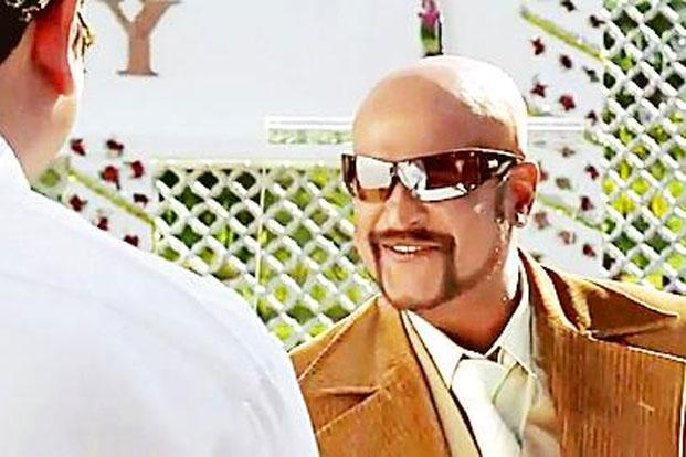 Smooth operator: Down south, Rajinikanth's lead role in the film Sivaji supposedly triggered the craze for going bald.