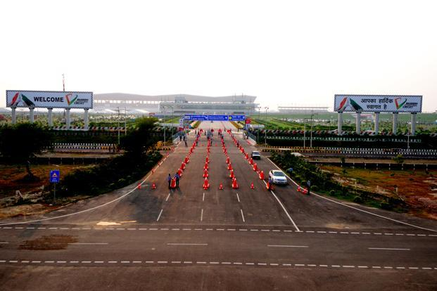 The Buddh International Circuit, the venue for Indian Grand Prix at Greater Noida. Photo: Pradeep Gaur/Mint