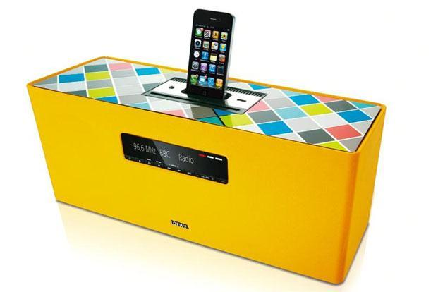 SoundBox: You can connect it to your iPod or iPhone.