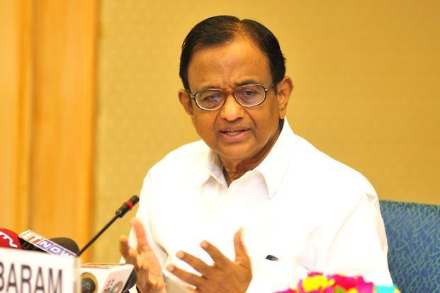 A file photo of finance minister P. Chidambaram. Photo: Ramesh Pathania/Mint