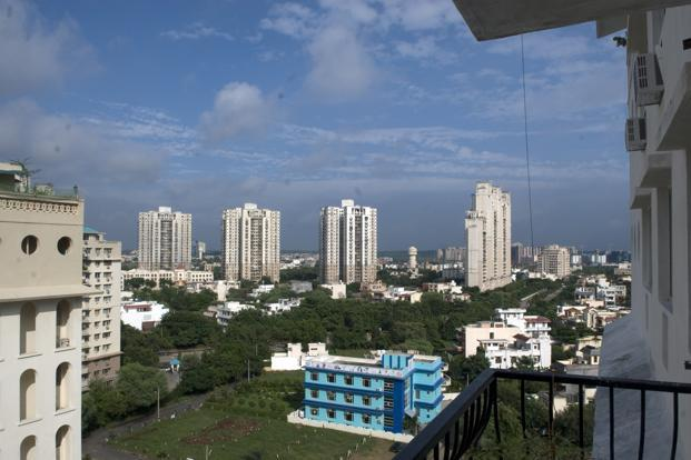 Residential projects attracted the maximum PE capital; deals in this segment increased by 9% in the first three quarters of 2012 although the quantum of investments was similar to last year. Photo: Ramesh Pathania/Mint