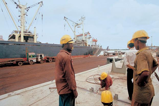 A file photo of Haldia port. Photo: India Today Images