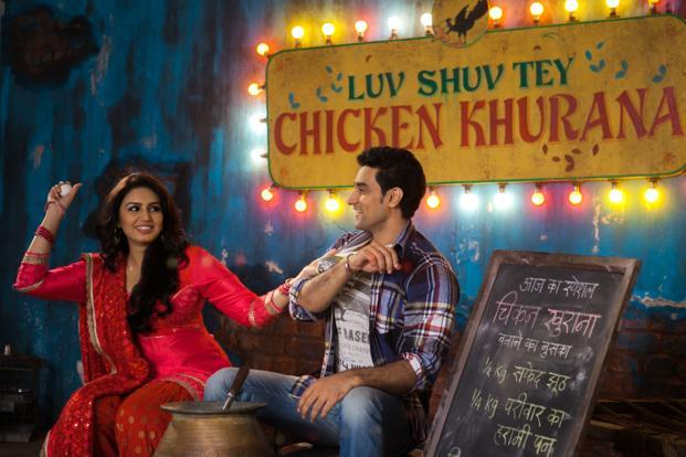 Luv Shuv Tey Chicken Khurana has Huma Qureshi (left) and Kunal Kapoor in the lead