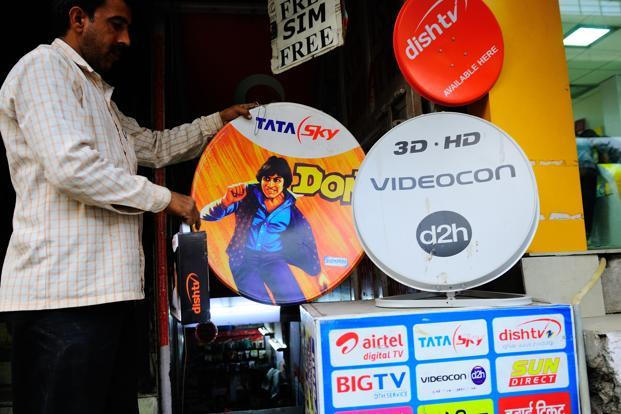 The government has made set-top boxes mandatory to view TV channels in metros in a bid to convert cable networks to digital. Photo: Priyanka Parashar/Mint
