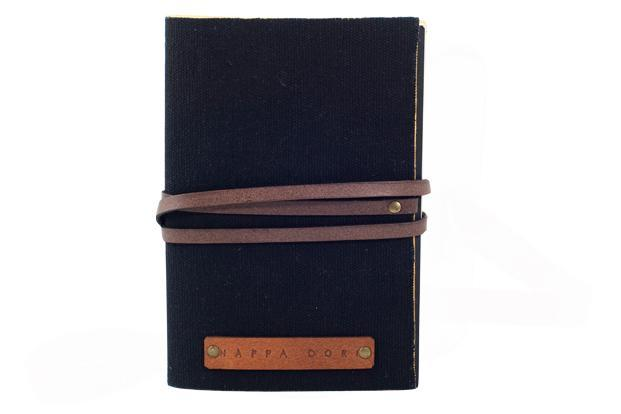 Nappa Dori, Meherchand Market, Lodhi Colony, New Delhi: Leather-bound A6-size journal, Rs450.