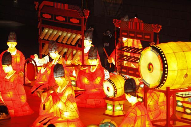 "Snapshots from the Seoul Lantern Festival 2012 in Seoul, South Korea which interprets the theme ""Seoul's Roots, the Lifestyles of Our Ancestors"", highlighting Seoul's 2,000 year-old history and traditions. Reuters"