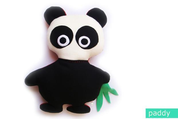 Pink Elephant: Paddy the Panda from Monster Hugs collection, Rs999.