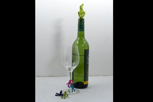 Home Stop, Select Citywalk mall, Saket, New Delhi; Inorbit mall, Link Road,Malad (West), Mumbai; Raheja Point, Magrath Road,Bangalore; and Inorbit mall: Wine buddies for your glasses and a bottle stopper, Rs599.