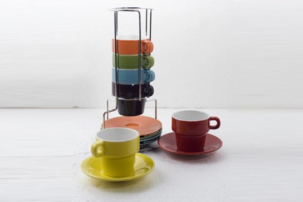 CMYK, Mehar Chand market, Lodhi Road, New Delhi: Set of espresso cups Rs 2495.