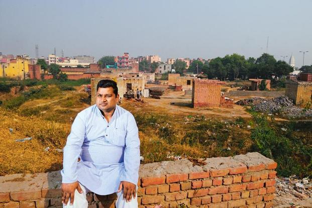 Gopal Kishan Gupta has been fighting land grabbing in his locality in Delhi. Priyanka Parashar/Mint