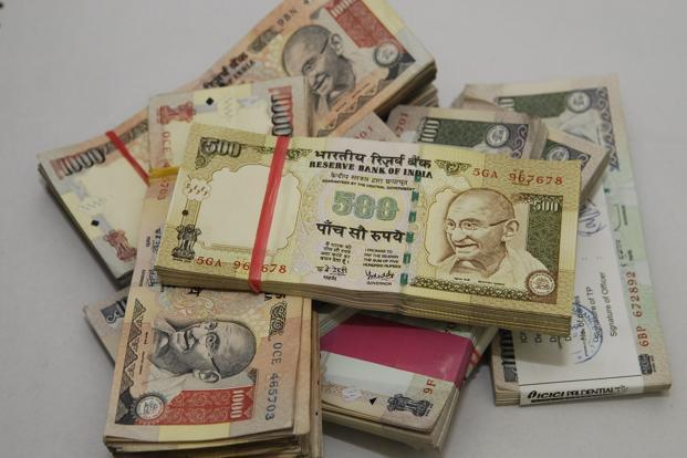 The partially convertible rupee closed at 53.8050/8150 per dollar versus its previous close of 53.6950/7150. Photo: Mint