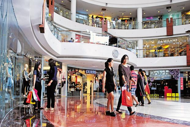 research papers on shopping malls in india India has some 400-odd small and big shopping centers with approximately 75  million sq ft of retail space–primarily spread across in and.