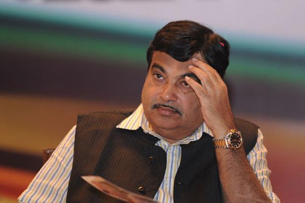 Nitin Gadkari is facing allegations of impropriety and has been accused of allegedly favouring a construction company when he was public works department minister in Maharashtra. Photo: Sajjad Hussain/AFP (Sajjad Hussain/AFP)