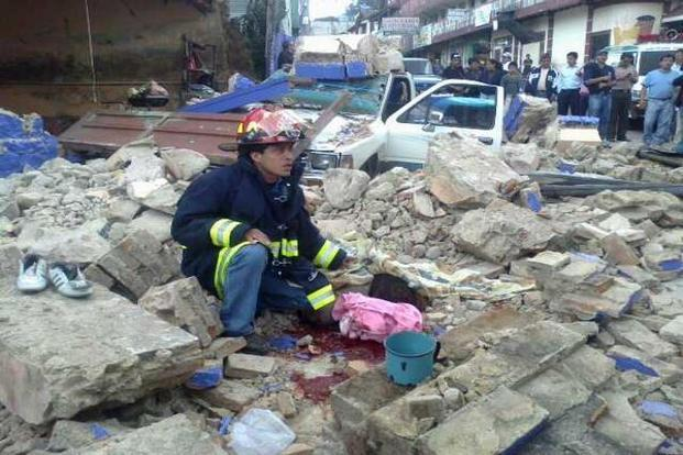 At least 48 people died in southwestern Guatemala after a strong 7.5-magnitude earthquake struck off the country's Pacific coast on Wednesday. Photo: AFP