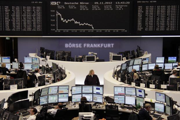 Frankfurt's DAX fell between 0.5 and 1.3%. Photo: Reuters