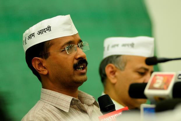 Arvind Kejriwal's allegations come two weeks ahead of the launch of his political party. Photo: Pradeep Gaur/Mint