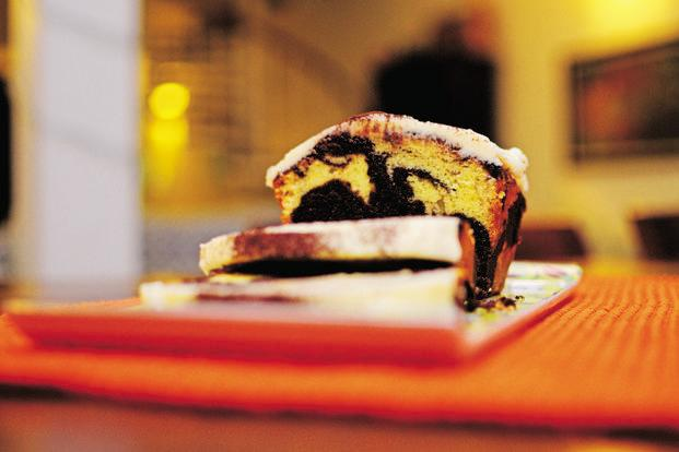 Enjoy the taste of chocolate and vanilla in one slice. Photo: Pradeep Gaur/Mint