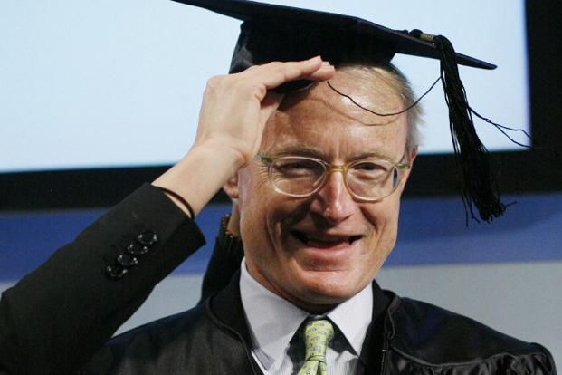 A file photo of Monitor's founder Michael Porter. Photo: AFP