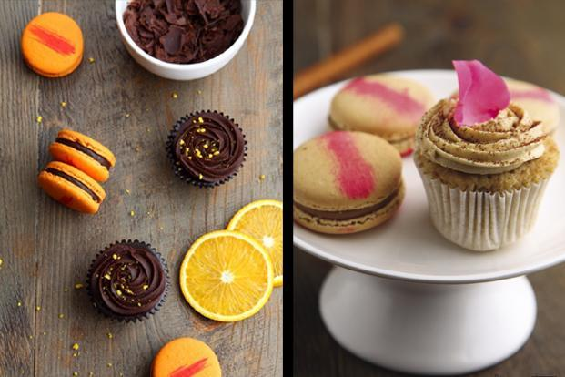 <b>Le 15 Patisserie and Nachiket Barve</b>: Cupcakes and macaroons in cinnamon, nutmeg, saffron, cardamom and other flavours. A box of 12 for Rs 1,850 and a box of 4 for Rs 150, at Le 15, Palladium, High Street Phoenix, Lower Parel, Mumbai.