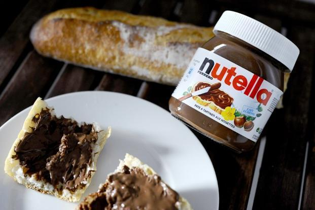 The main ingredients of the spread are sugar, milk powder, hazelnuts, cocoa, emulsifier, flavouring and palm oil, on which a tax of almost €100 per tonne is levied in France at the moment. Photo: AFP