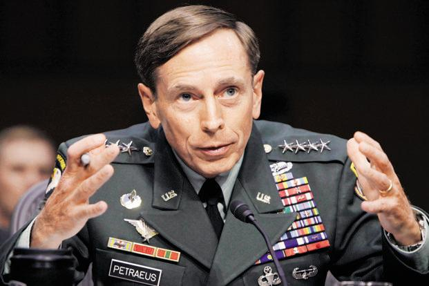 David Petraeus stepped down as director of the Central Intelligence Agency on Friday. Photo: Reuters