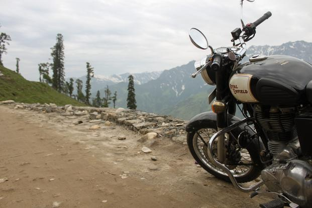 Royal Enfield is the oldest motorcycle brand in the world still in production, with the Bullet model enjoying the longest motorcycle production run of all time. Photo: Sachin Soni.