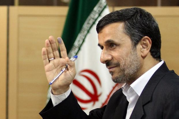 A file photo of Iranian President Mahmoud Ahmadinejad. Atta Kenare/AFP