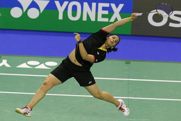 Indian shuttler Saina Nehwal. Photo: AP