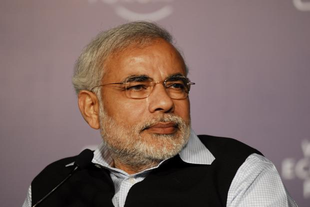 A file photo of Gujarat chief minister Narendra Modi. Photo: Mint