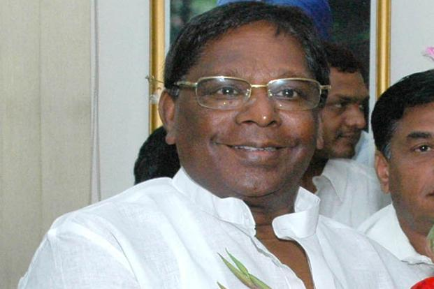 V. Narayanaswamy, minister in the Prime Minister's Office. Photo: Hindustan Times
