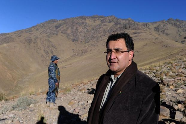 Afghanistan minister of mines Wahidullah Shahrani. The government vowed the bids will be considered in a 'thorough, transparent, and fair bidding process until the announcement of the results of the evaluation process'.