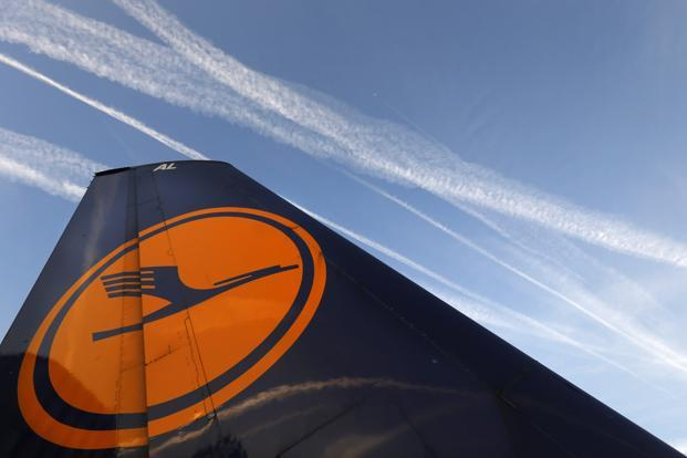 The proposed temporary waiver gives the International Civil Aviation Organization until its general assembly next November to reach a global solution to airline emissions. Photo: Kai Pfaffenbach/Reuters