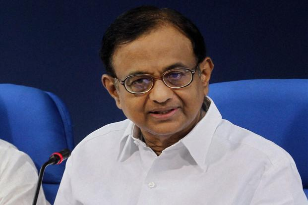 Finance minister P. Chidambaram. The scheme would provide a 50% tax deduction on investments up to `50,000 to investors whose annual taxable income is below `10 lakh. Photo: PTI