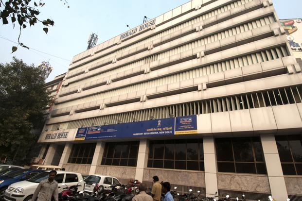 A New Delhi-based real estate expert says land in the Bahadur Shah Zafar Marg area in the Capital, where Herald House is located, would be valued at Rs200 crore per acre.