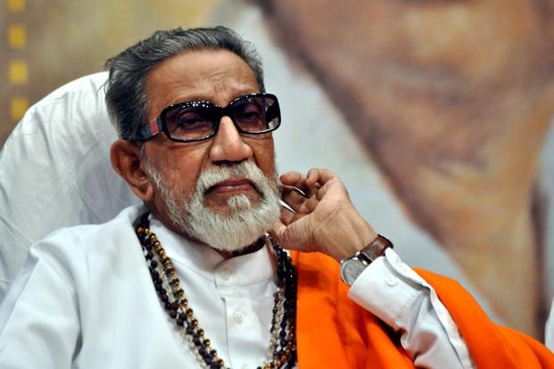 Shiv Sena chief Bal Thackeray. Photo: AFP