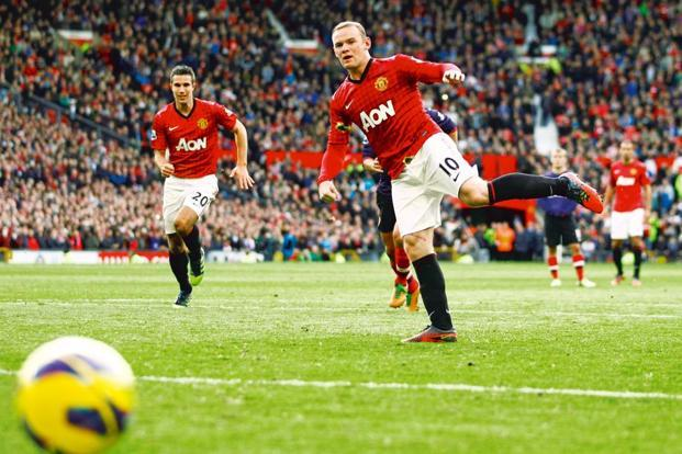 Wayne Rooney. Photo: Jon Super/AP