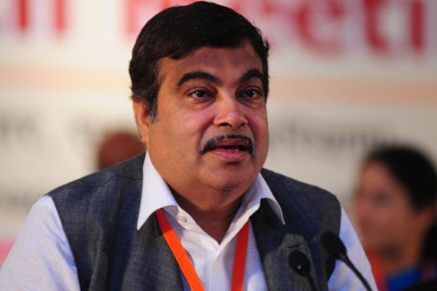 A file photo of BJP president Nitin Gadkari. For over a year now, the BJP has offered as much rich pickings as the Congress did for political controversies Photo: Ramesh Pathania/Mint