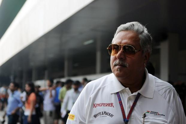 Vijay Mallya at the recently held Formula One Indian Grand Prix 2012. Photo: Manan Vatsyayana/AFP