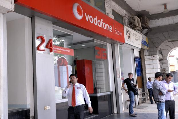 In the fiscal first half, the local unit of London-based Vodafone Group Plc. reported `17,581.3 crore of revenue, compared with `15,511.6 crore in the same period last year. Photo: Aditi Mukherjee/Mint